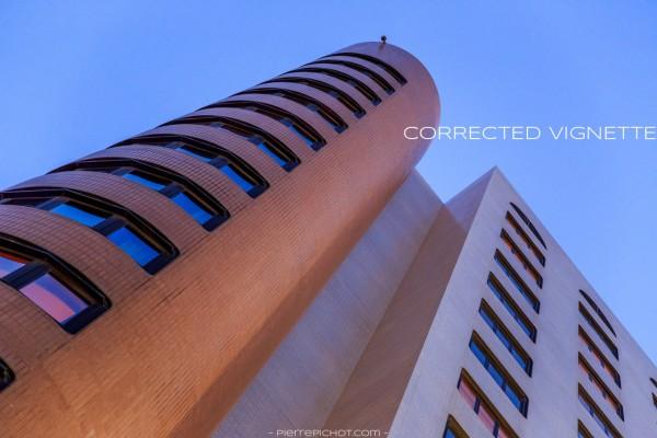 Mercure Hotel, Algiers, Algeria. Corrected vignette.