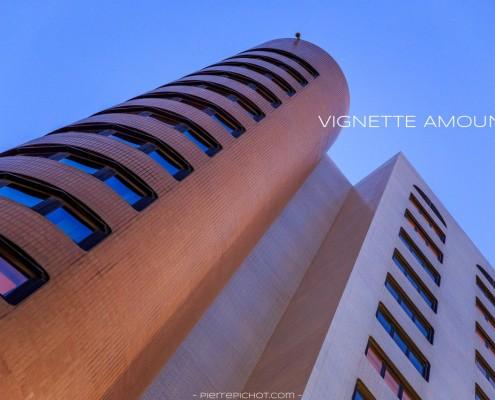 Mercure Hotel, Algiers, Algeria. Vignette with amount of -5.