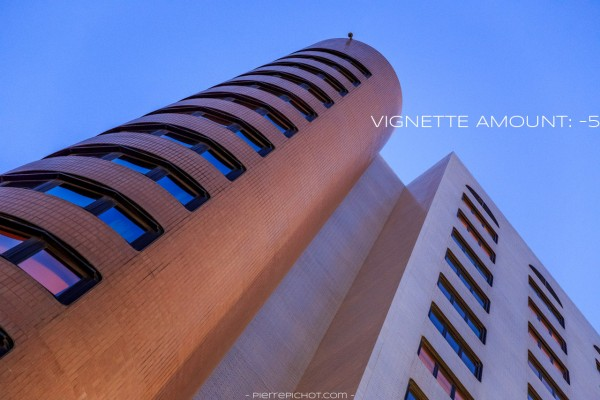 Mercure Hotel, Algiers, Algeria. Vignette with amount of -5.
