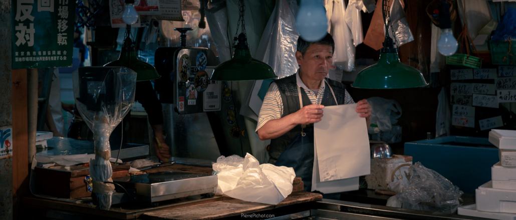 Cinematic Tsukiji Market