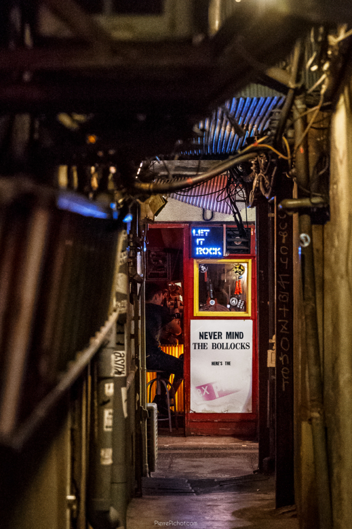 Golden Gai, Shinjuku: 200+ very small bars, welcoming only 5 to 10 customers.