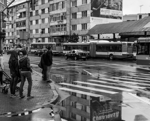 This reflection. Cluj-Napoca, Romania, 2015.