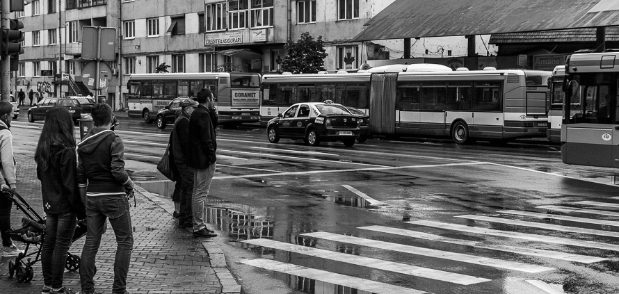 This reflection. Cluj-Napoca, Romania, 2015.