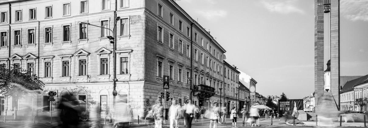 Commuting III, Cluj-Napoca, Romania, 2015.