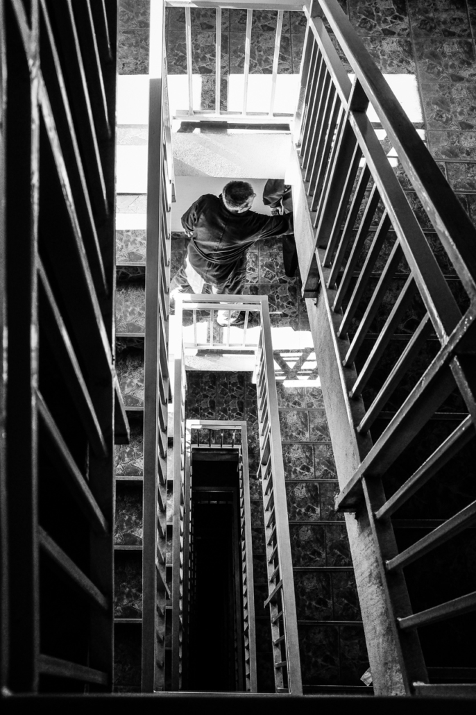 Stairs. Cluj-Napoca, Romania.