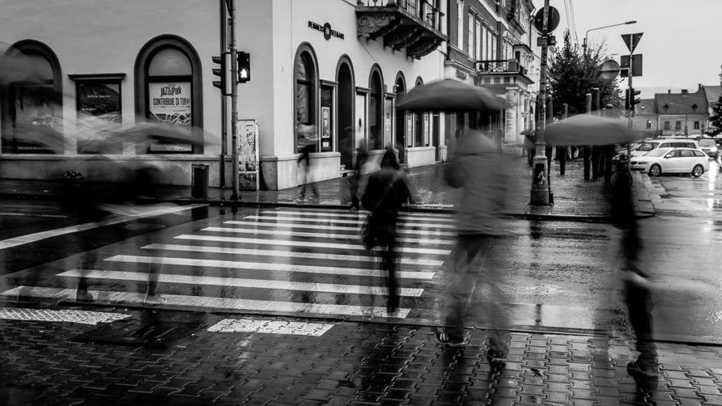 Commuting II. Cluj-Napoca.