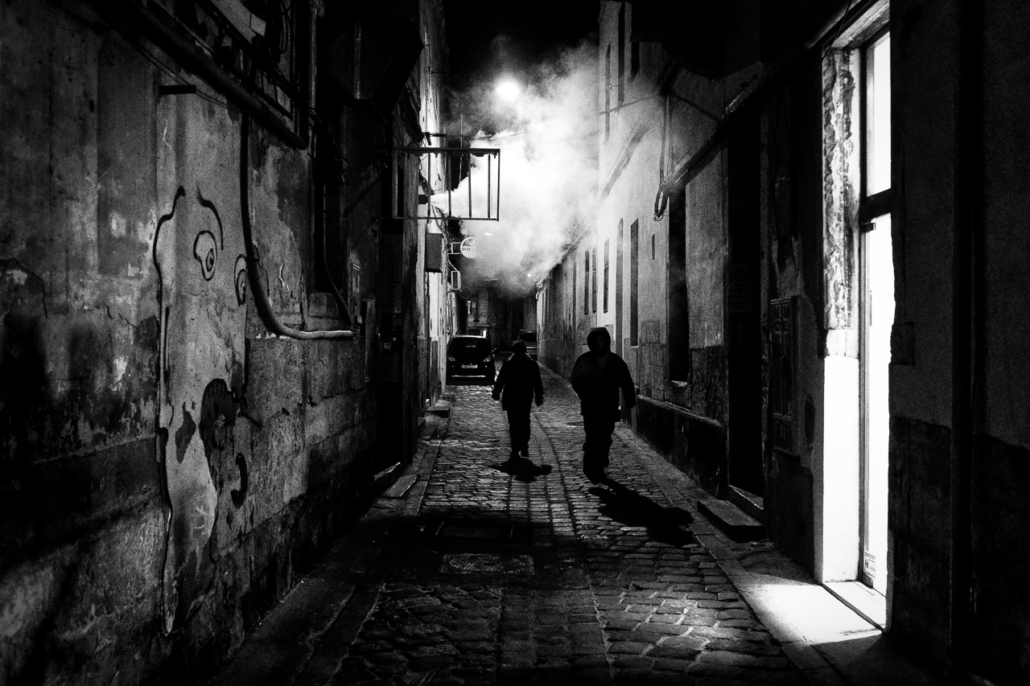 Strangers in the dark III. Cluj-Napoca, Romania.