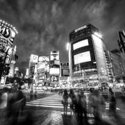 Shibuya crossing, Tokyo, Japan, 2015.