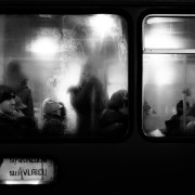 Public transportation. Cluj-Napoca, Romania, 2015.
