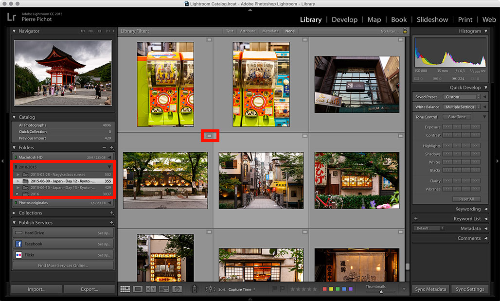 Lightroom Smart Previews - Working with Smart Previews