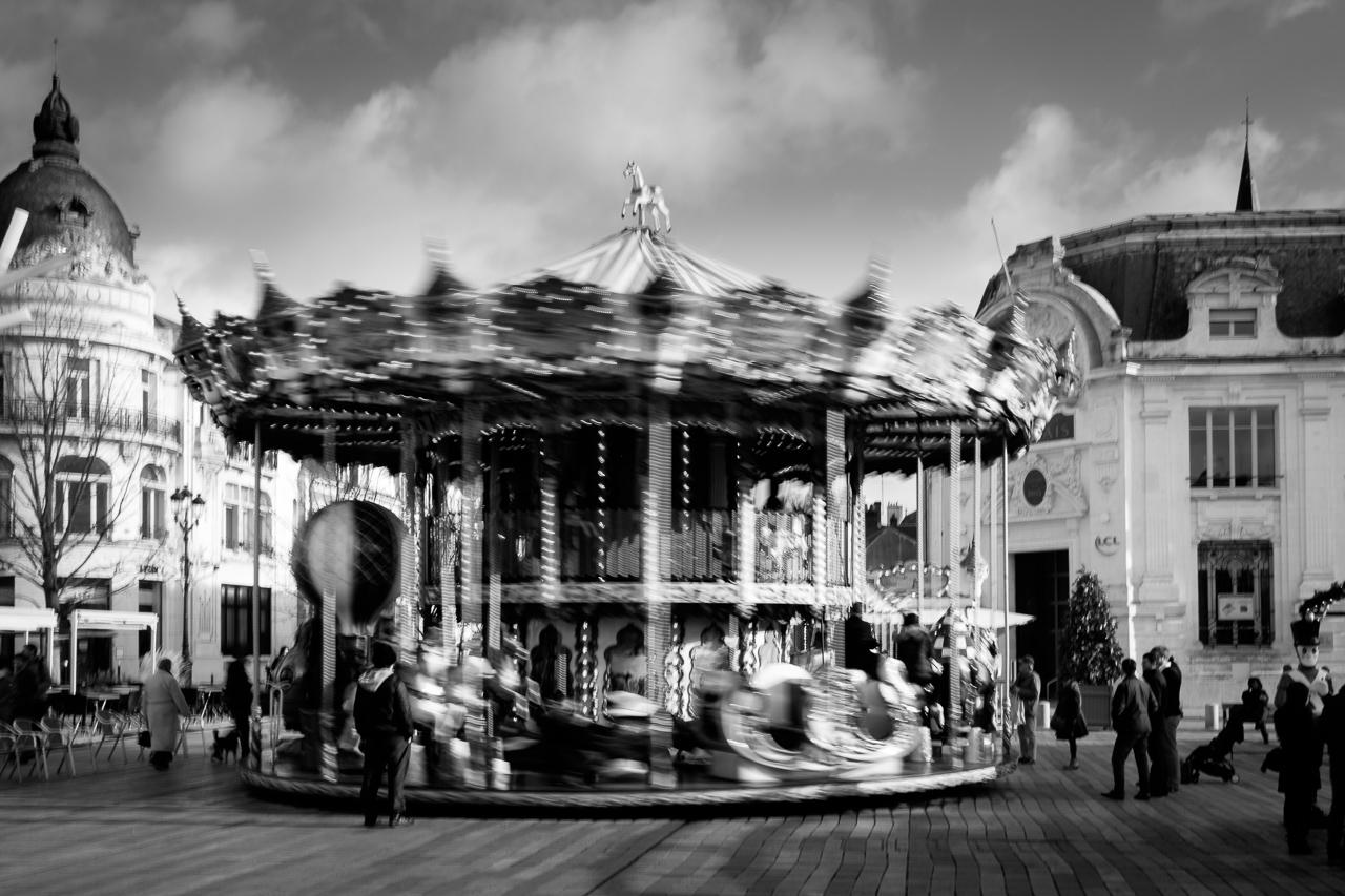 Carousel. Orléans, Loiret, France, 2016.