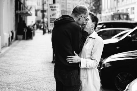 The kiss. Prague, Czech Republic, 2016.