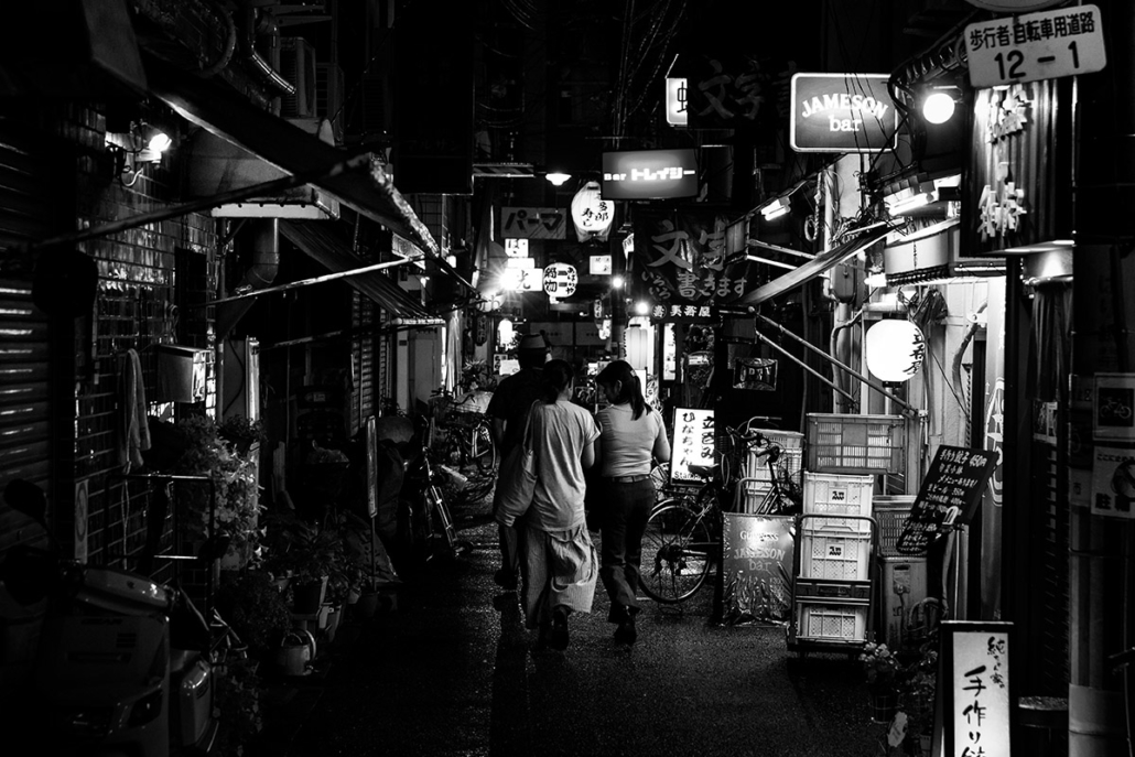 A night in Dotonbori, Osaka, Japan, 2015.