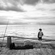 Young fisherman. Cancale, Bretagne/Brittany, France, 2016.