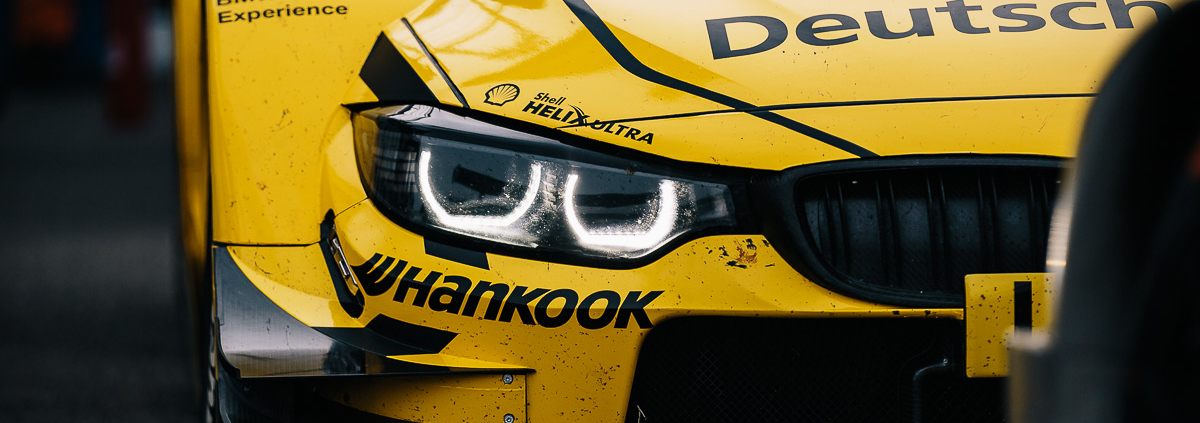 DTM bits - BMW M4 DTM. Hungaroring, Hungary, 2016.