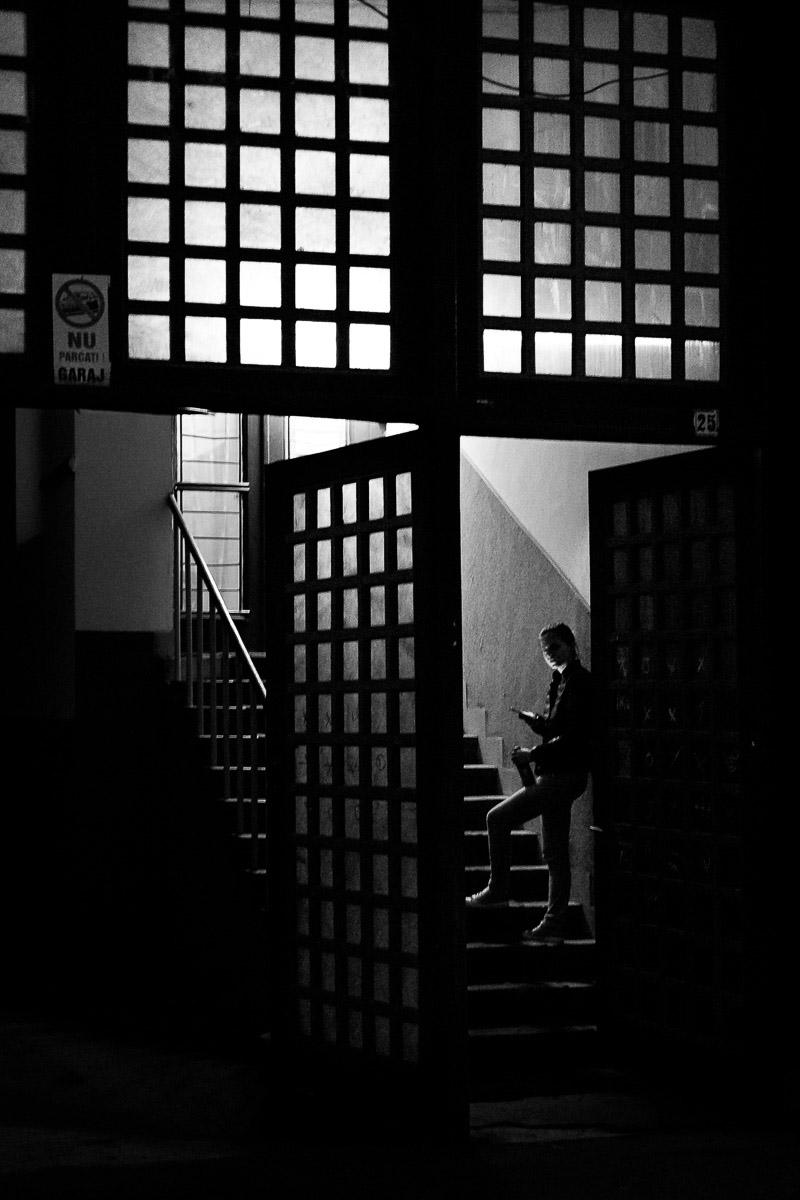 Night call. Cluj-Napoca, Romania, 2016.