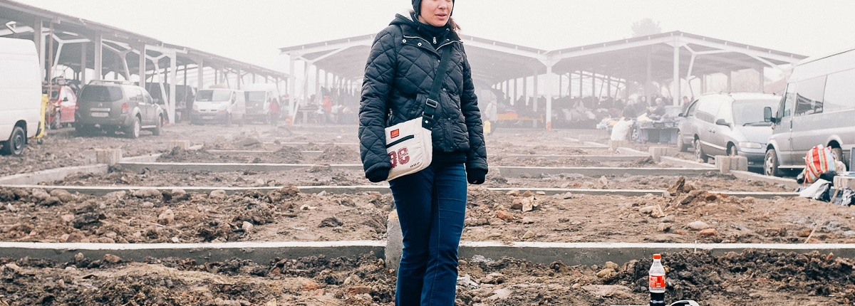 Oser flea market. Cluj-Napoca, Romania, 2016.