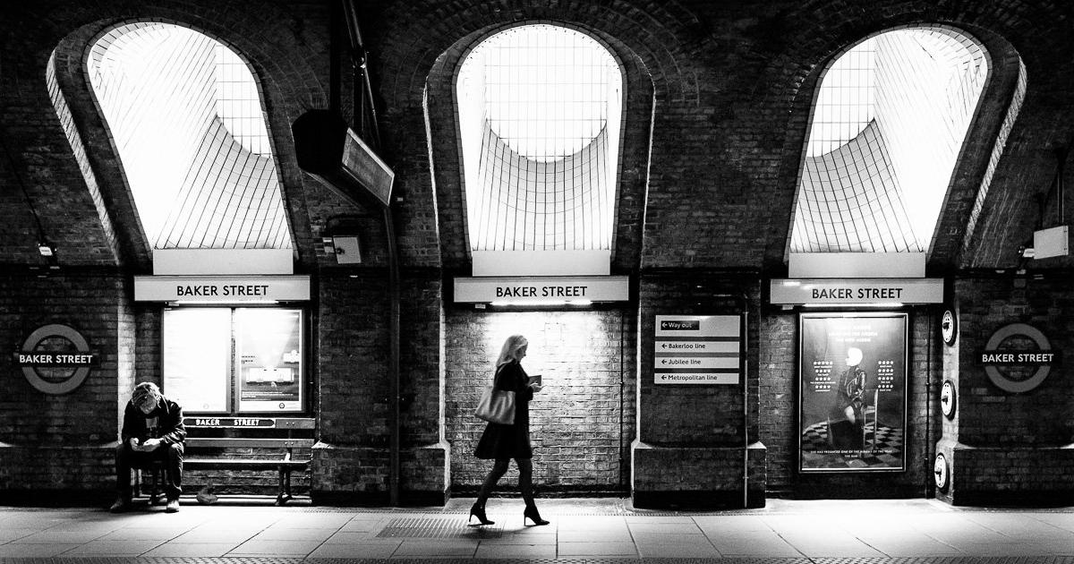 Baker Street Underground station. London, Great Britain, 2016.