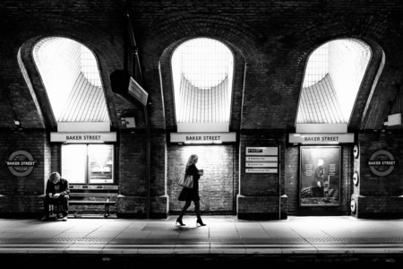 Baker Street Underground station. London, Great Britain, 2016.
