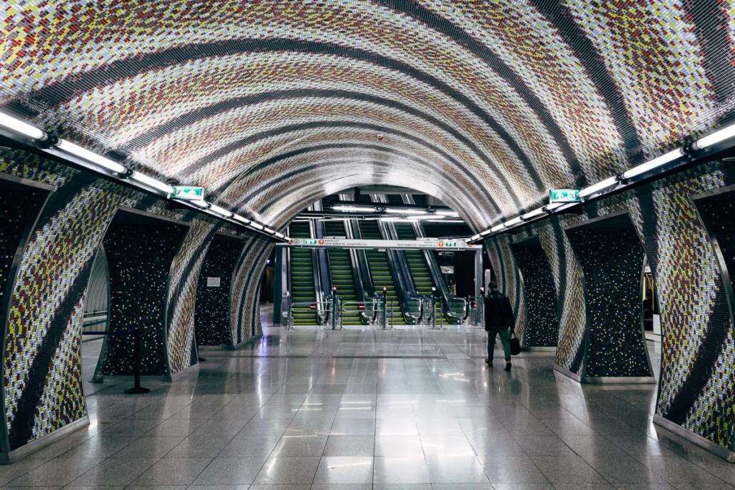 Szent Gellert Ter station. Budapest, Hungary, 2016.