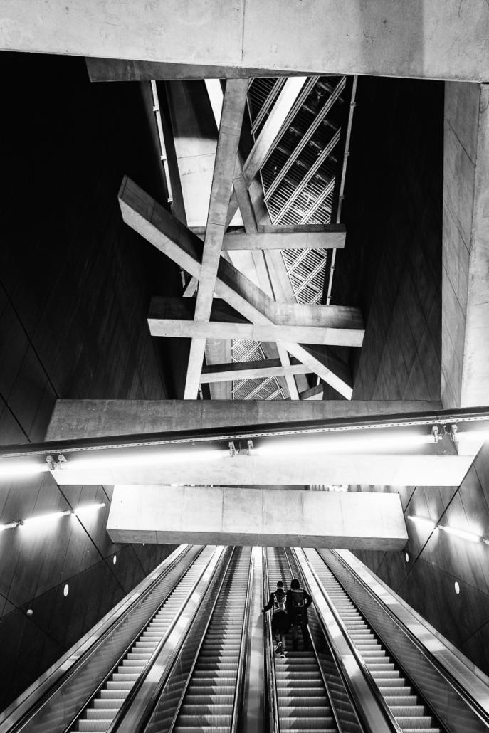Fovam Ter station. Budapest, Hungary, 2016.