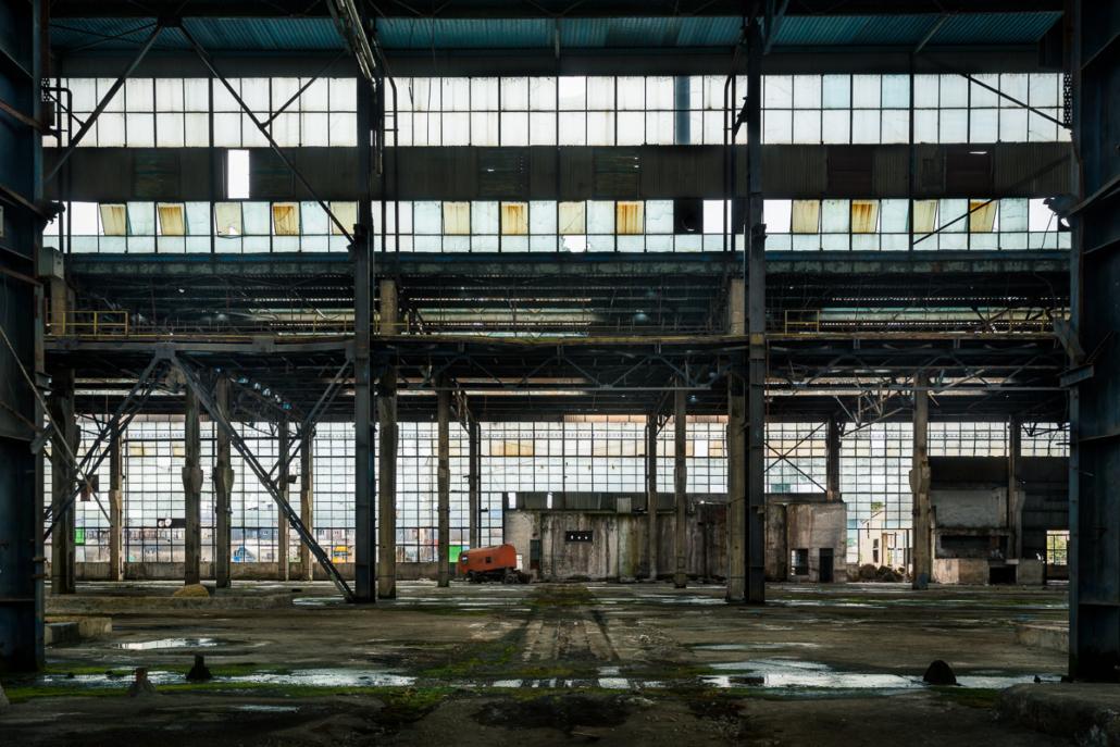 The forgotten factory. Cluj-Napoca, Romania, 2017.