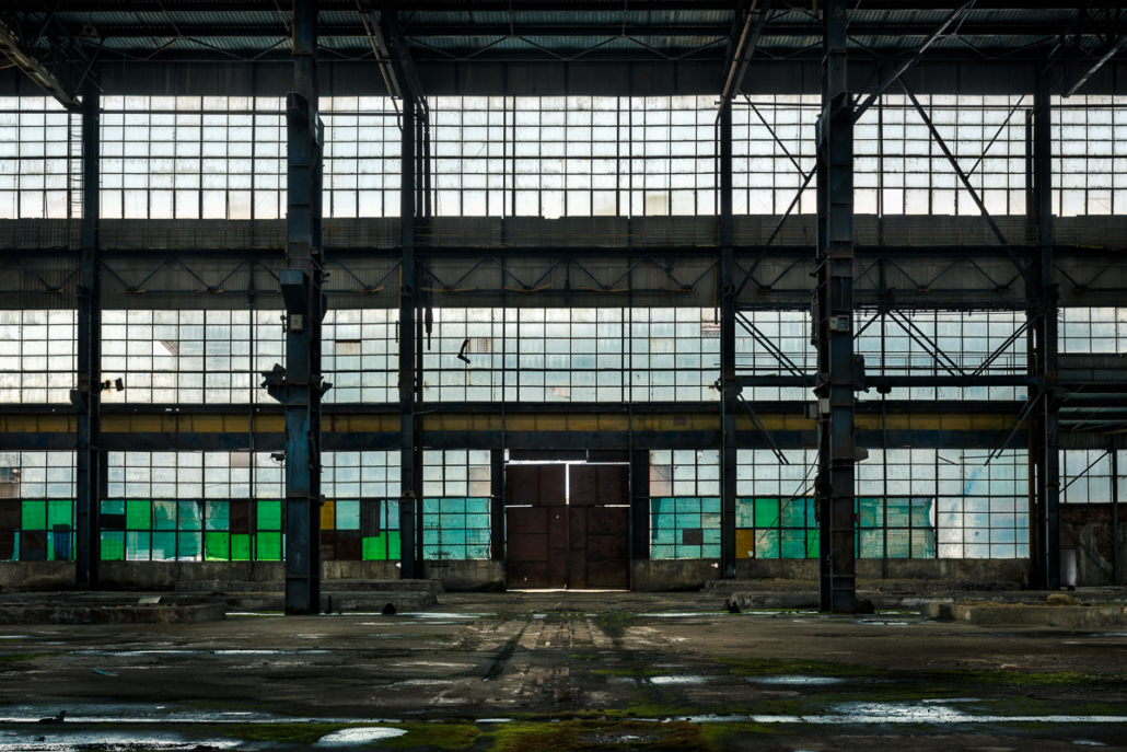 The forgotten factory. Cluj-Napoca, Romania, 2017.
