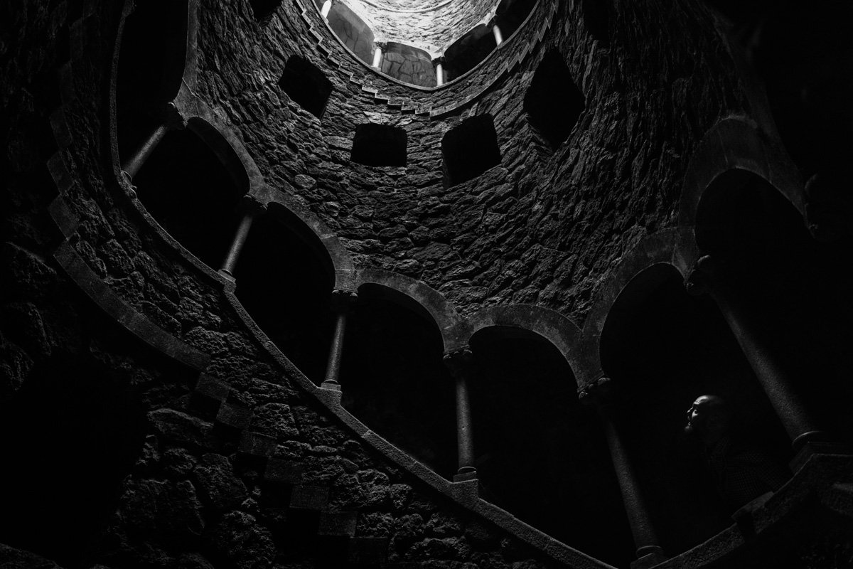The Initiation Well à Quita da Regaleira (Sintra, Portugal). Obtenir un tirage !