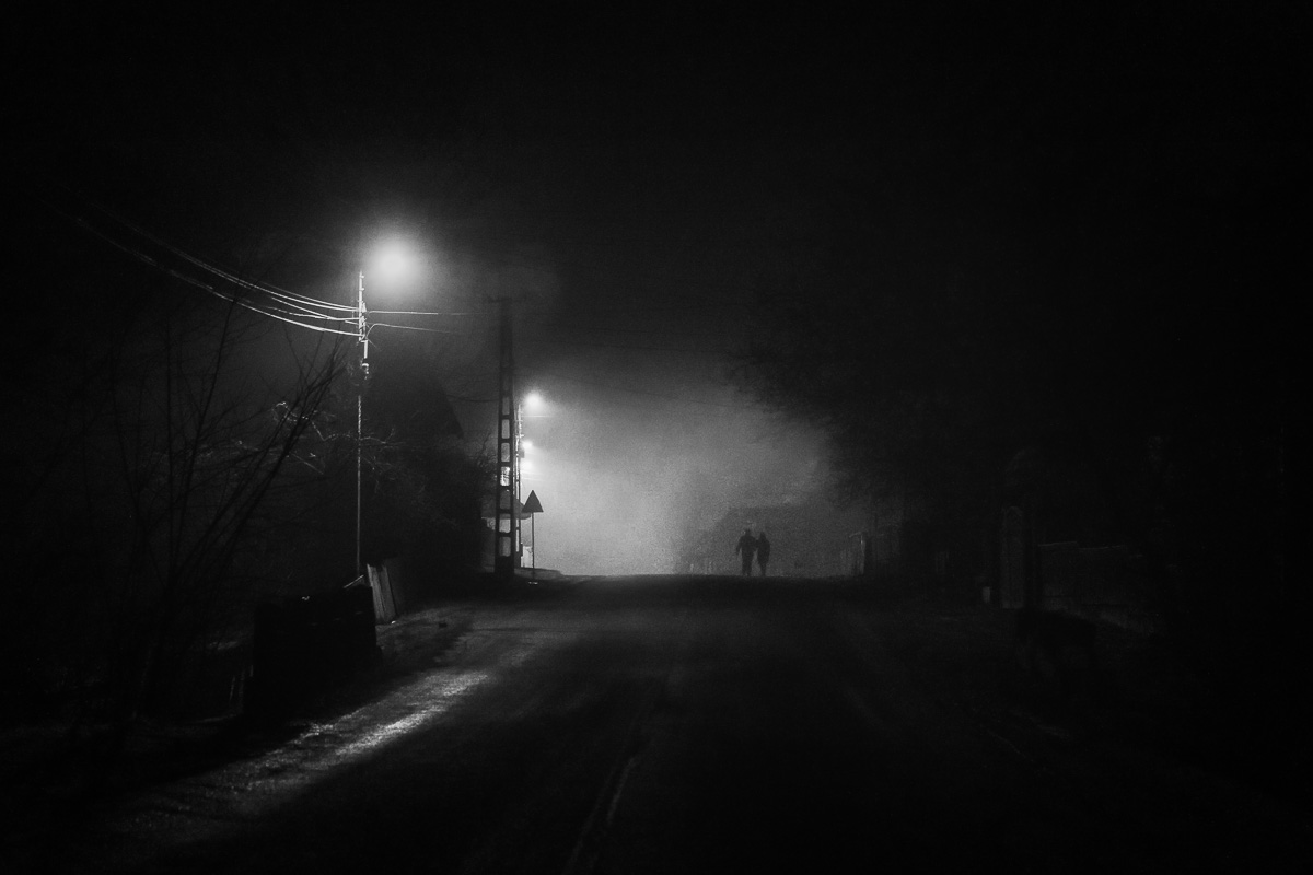 A Noir Christmas. Harghita, Romania, 2017, December 25th.