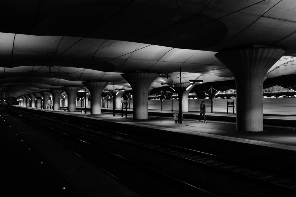 Strangers in the Dark XXVII - Austerlitz train station. Paris, France, 2018.