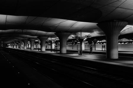 Strangers in the Dark XXVII - Gare d'Austerlitz. Paris, France, 2018
