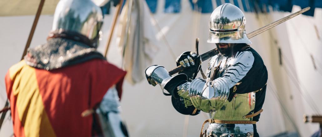 Heures Historiques Sully sur Loire 2018. Sully sur Loire, France, 2018.