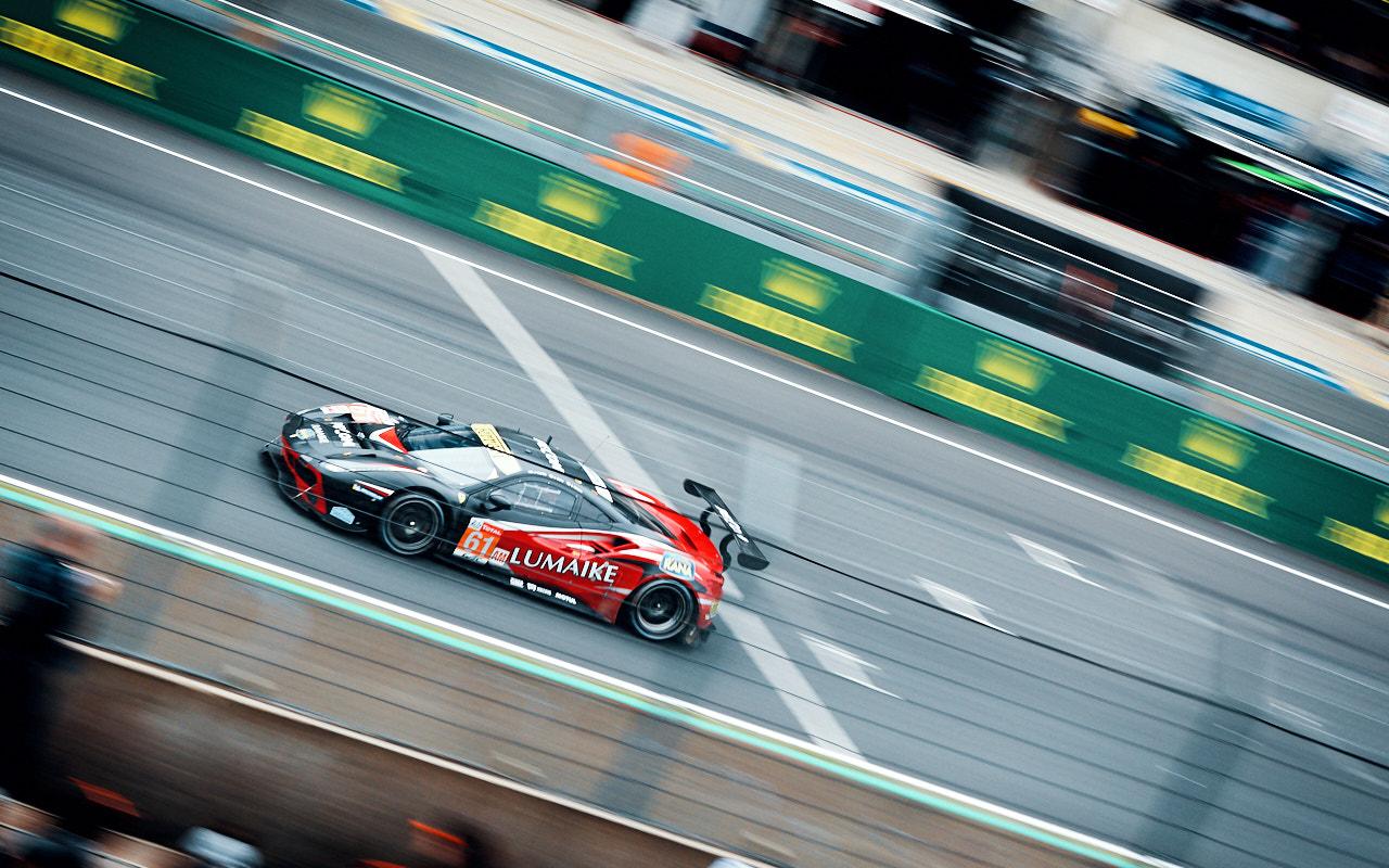 Clearwater Racing Ferrari 488 GTE #61 - 24H du Mans 2019