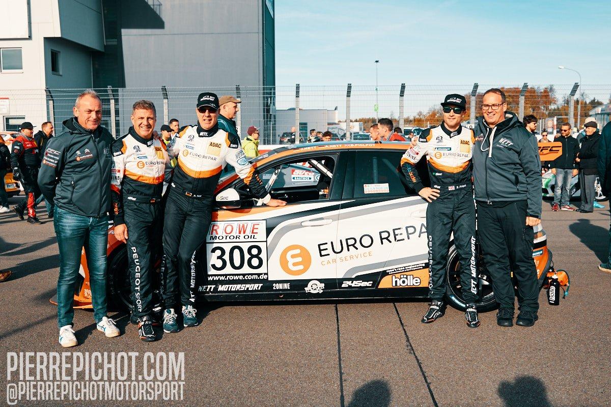 Team Eurorepar Nett Motorsport - Peugeot 308 TCR #308 - VLN 9 2019