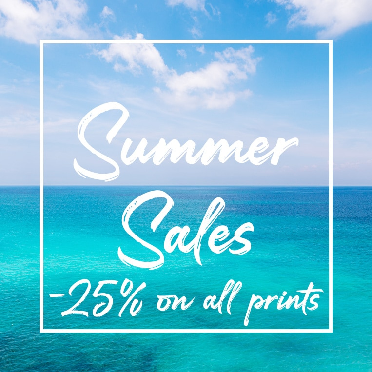 Summer Sales! -25% on all prints until Aug 31st.