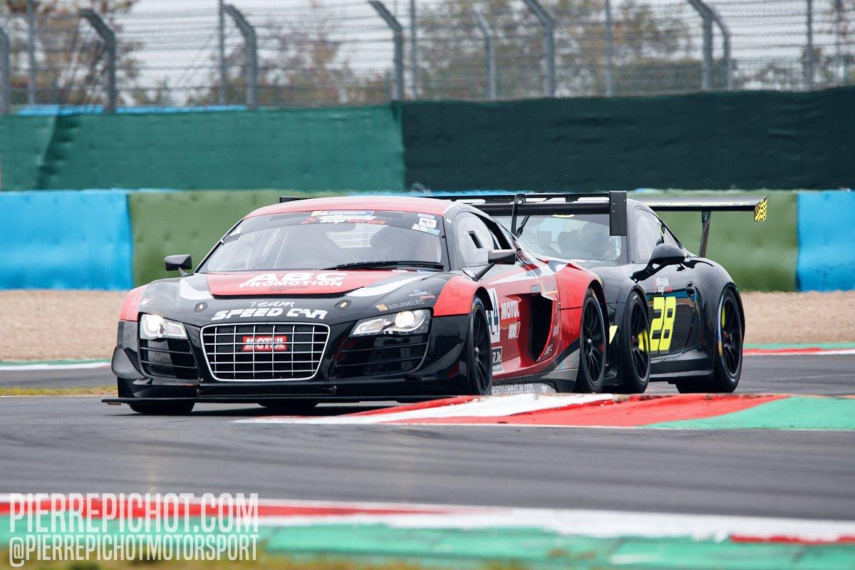 Alain Marzolini - Audi R8 LMS + Romain Monti - Porsche 911 Cup - Breizh Motorsport 56 Ultimate Cup Series - GT Sprint - Race 1 Circuit de Nevers-Magny-Cours, France, 2020.