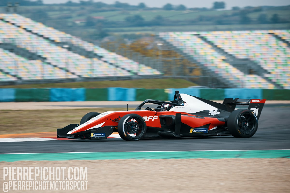 Konstantin Lachenauer - Graff Racing - Tatuus F3-T318 Ultimate Cup Series - Single Seaters - Race 1 Circuit de Nevers-Magny-Cours, France, 2020.