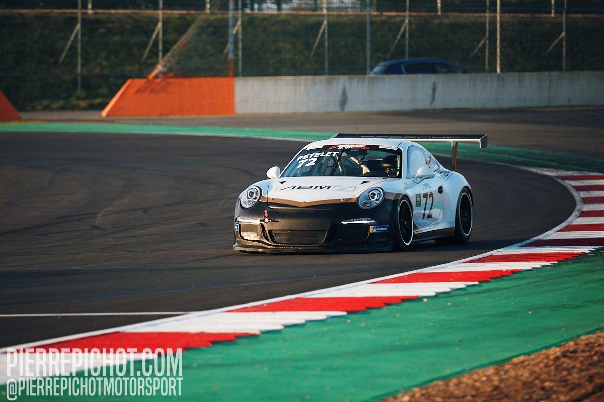 Porsche 911 Cup - Milan Petelet - ABM Ultimate Cup Series - GT Sprint - Race 3 Circuit de Nevers-Magny-Cours, France, 2020.