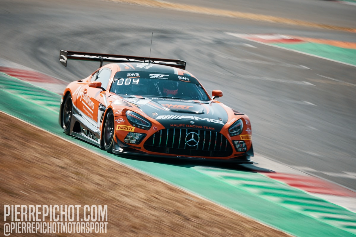 Mercedes AMG GT3 Evo - HRT- Maro Engel + Luca Stolz
