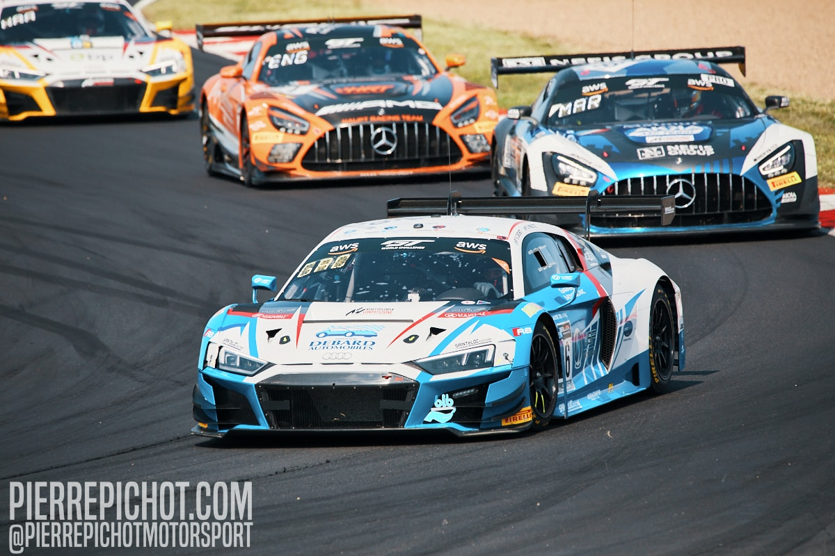Audi R8 LMS GT3 - Sainteloc Racing - Steven Palette + Simon Gachet
