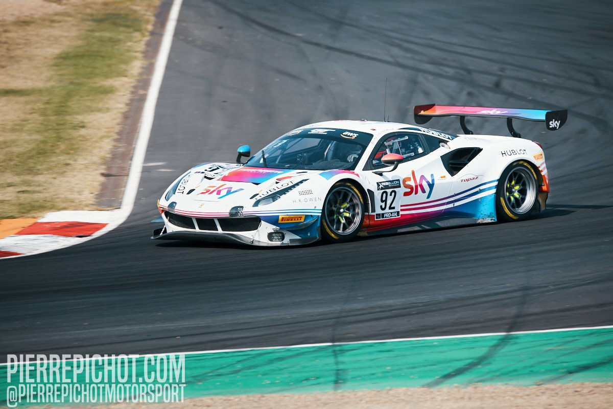 Ferrari 488 GT3 - Sky Tempesta Racing - Giancarlo Fisichella + Jonathan Hui